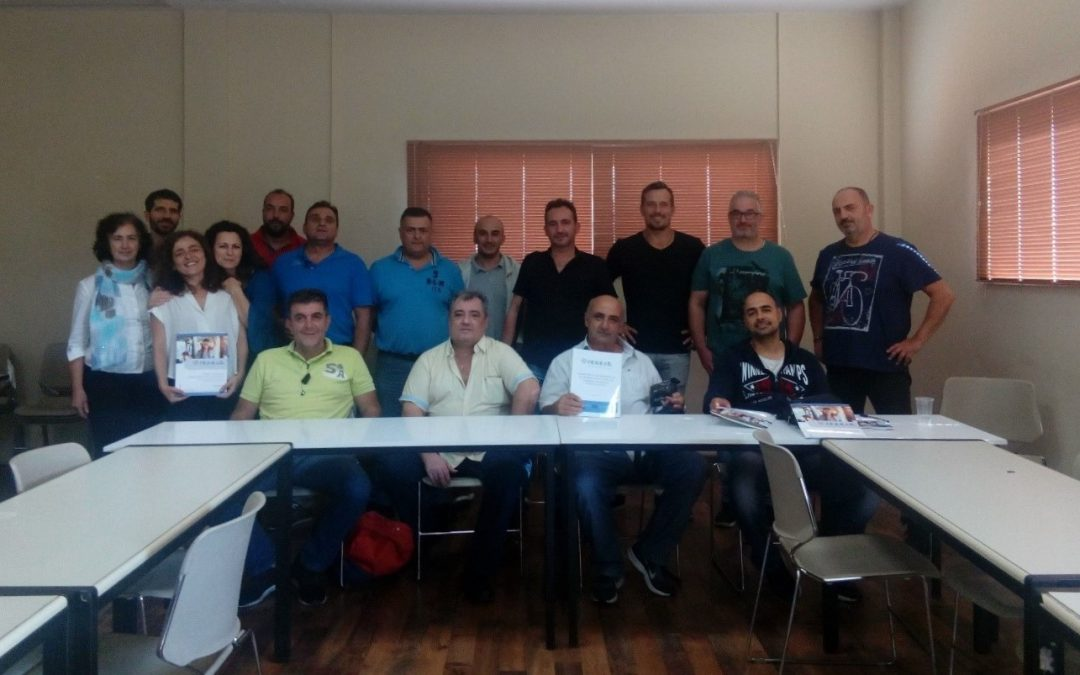Drivers and executives of OASA Training Seminars on xenophobic and racist incidents conflict resolution