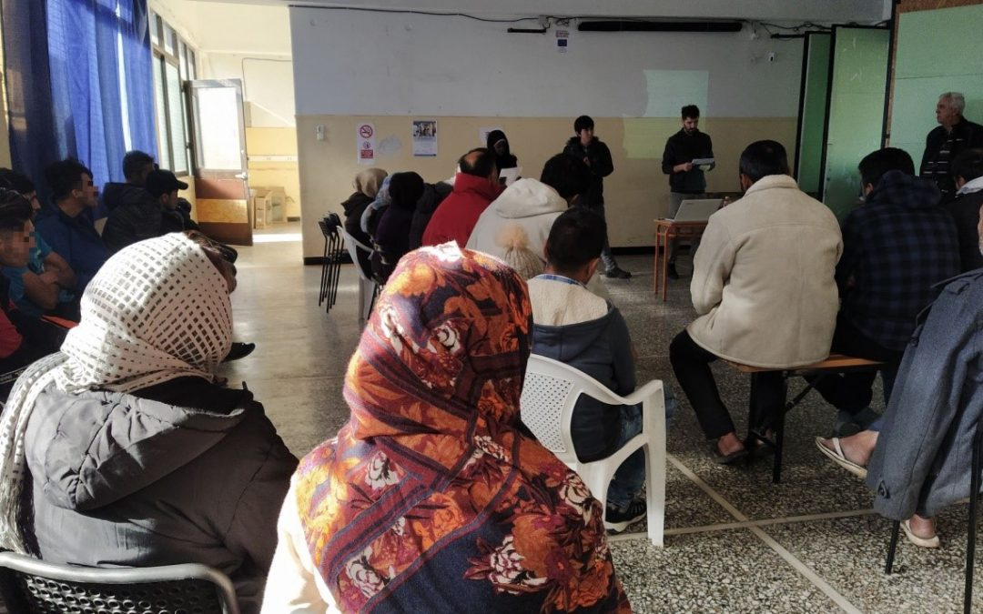 First Common Activity with the participation of OASA bus drivers and station masters and refugee / asylum seekers